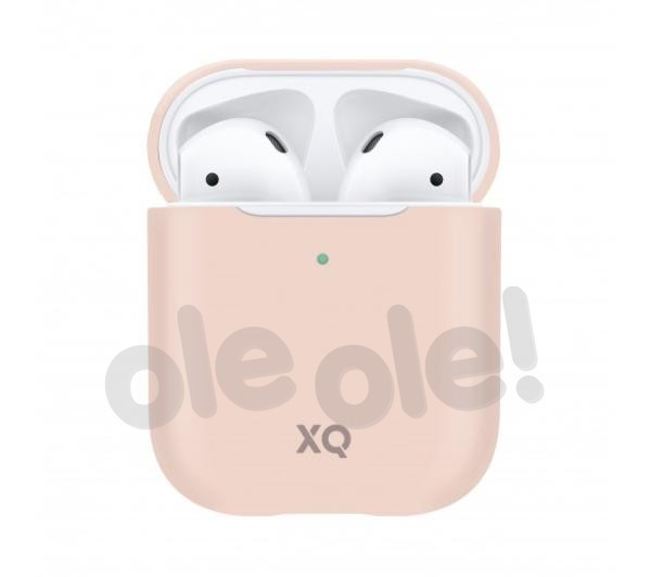Xqisit AirPods Silicone Case (różowy)