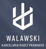 Logo firmy Walawski kancelaria