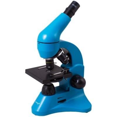 Mikroskop LEVENHUK Rainbow 50L Niebieski