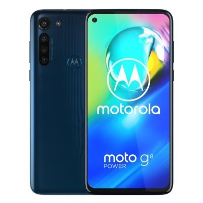 Smartfon MOTOROLA Moto G8 Power Niebieski