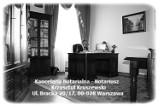 Logo firmy Kancelaria Notarialna -Notariusz Warszawa Centrum Krzysztof Kruszewski