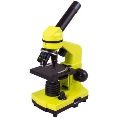 Mikroskop LEVENHUK Rainbow 2L Limonkowy