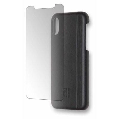 Pakiet ochronny MOLESKINE do Apple iPhone X Czarny