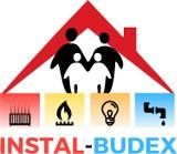 Logo firmy INSTAL-BUDEX Łukasz Niedźwiedź Usługi instalacyjne i ogólnodudowlane