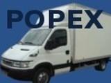 Logo firmy Popex Transport, Przeprowadzki, Przewóz mebli, AGD, RTV