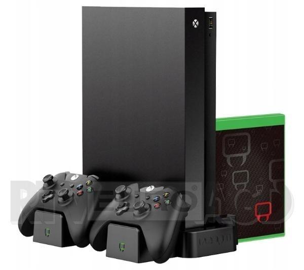 Venom VS2861 stand Xbox One na konsole i pady + 2 akumulatory (czarny)