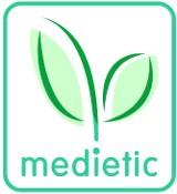 Logo firmy Medietic Monika Macioszek Centrum Poradnictwa i Edukacji Zdrowotnej