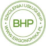 Logo firmy ERGONOMIKA szkolenia i usługi BHP