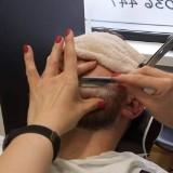 Logo firmy Doobre nożyczki barber shop Magdalena Kęsiak