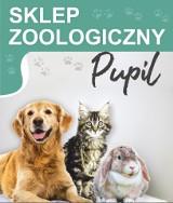 """Logo firmy Sklep zoologiczny """"Pupil"""" Monika Lewińska"""