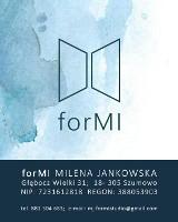 Logo firmy forMI MILENA JANKOWSKA