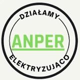 Logo firmy Kamil Stępień ANPER