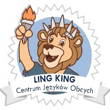 Logo firmy Centrum Języków Obcych Ling King