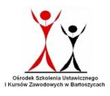 Logo firmy Ośrodek Szkolenia Ustawicznego i Kursów Zawodowych