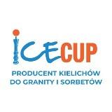 Logo firmy IceCup - producent kielichów, kubków, syropów do granity i sorbetów