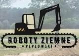 Logo firmy PEP-KOP Roboty Ziemne: Usługi Koparko - Ładowarka i Minikoparka