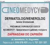 Logo firmy Specjalistyczny gabinet dermatologiczny lek. med. Iwona Grzeszczak